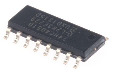 Nexperia 74HC4051D,652 , Multiplexer/Demultiplexer Single 8:1, 5 V, 16-Pin SOIC