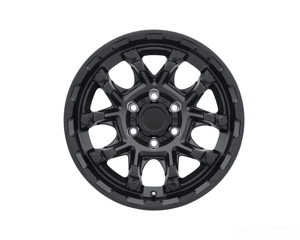 Black Rhino Ark Wheel 20x9 6x139.70|6x5.5 12mm Matte Black w/ Gloss Black Bolt