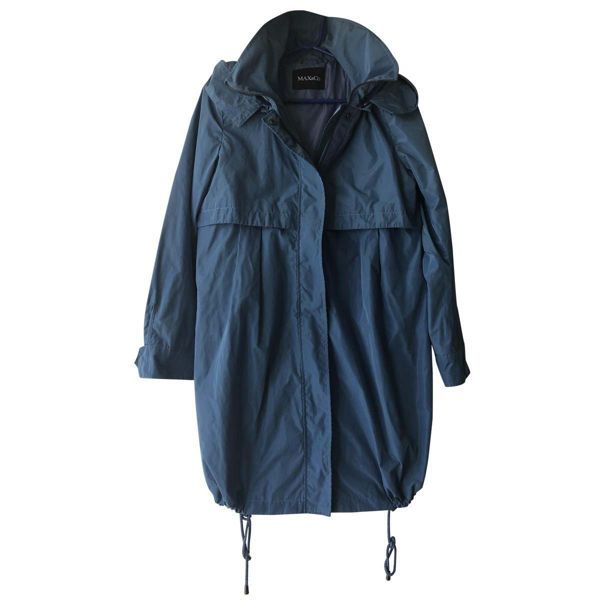 Max & Co \N Trench in  Blau Polyester