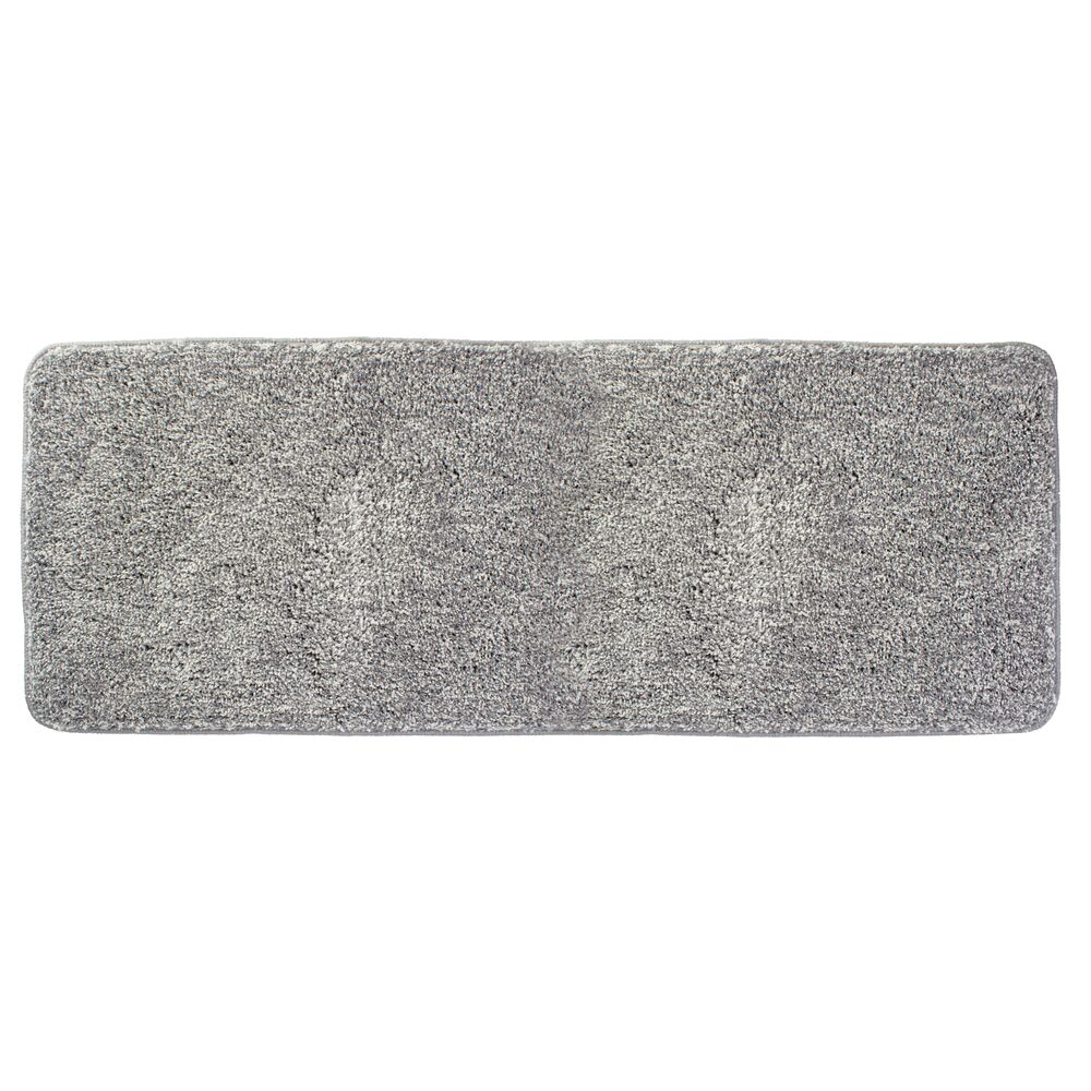 mDesign Microfiber Rectangular Bathroom Rug, 60