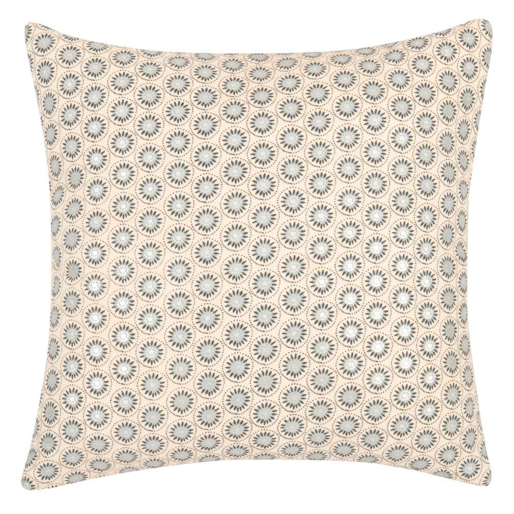 Kissenbezug aus Baumwolle mit grafischen Motiven 40x40