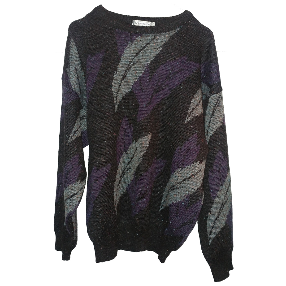 Yves Saint Laurent \N Pullover.Westen.Sweatshirts  in  Bunt Wolle