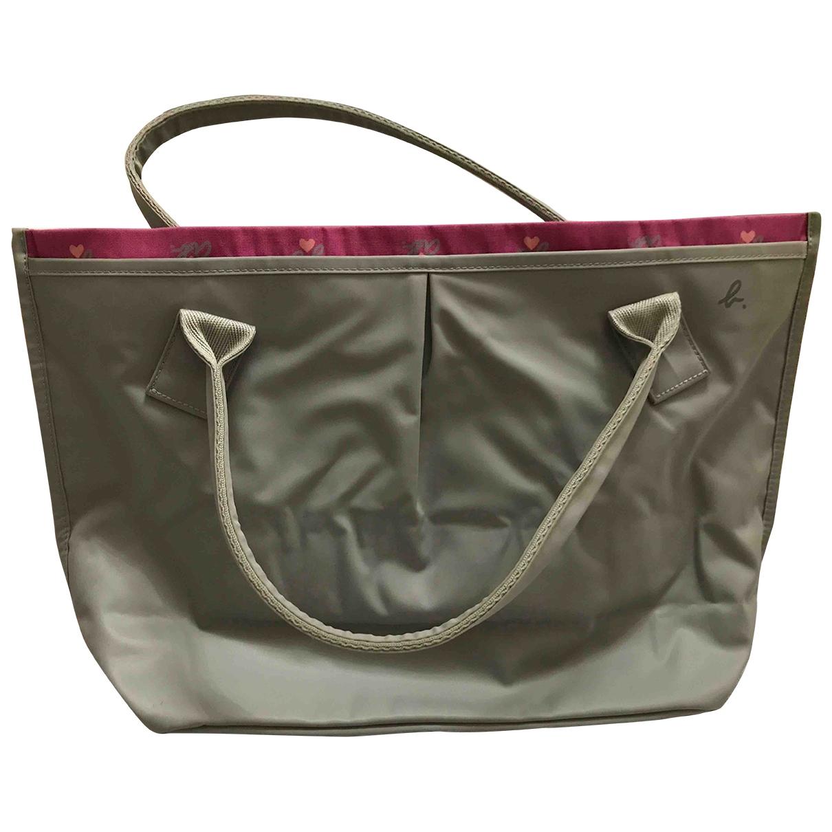 Agnes B. \N Handtasche in  Grau Polyester