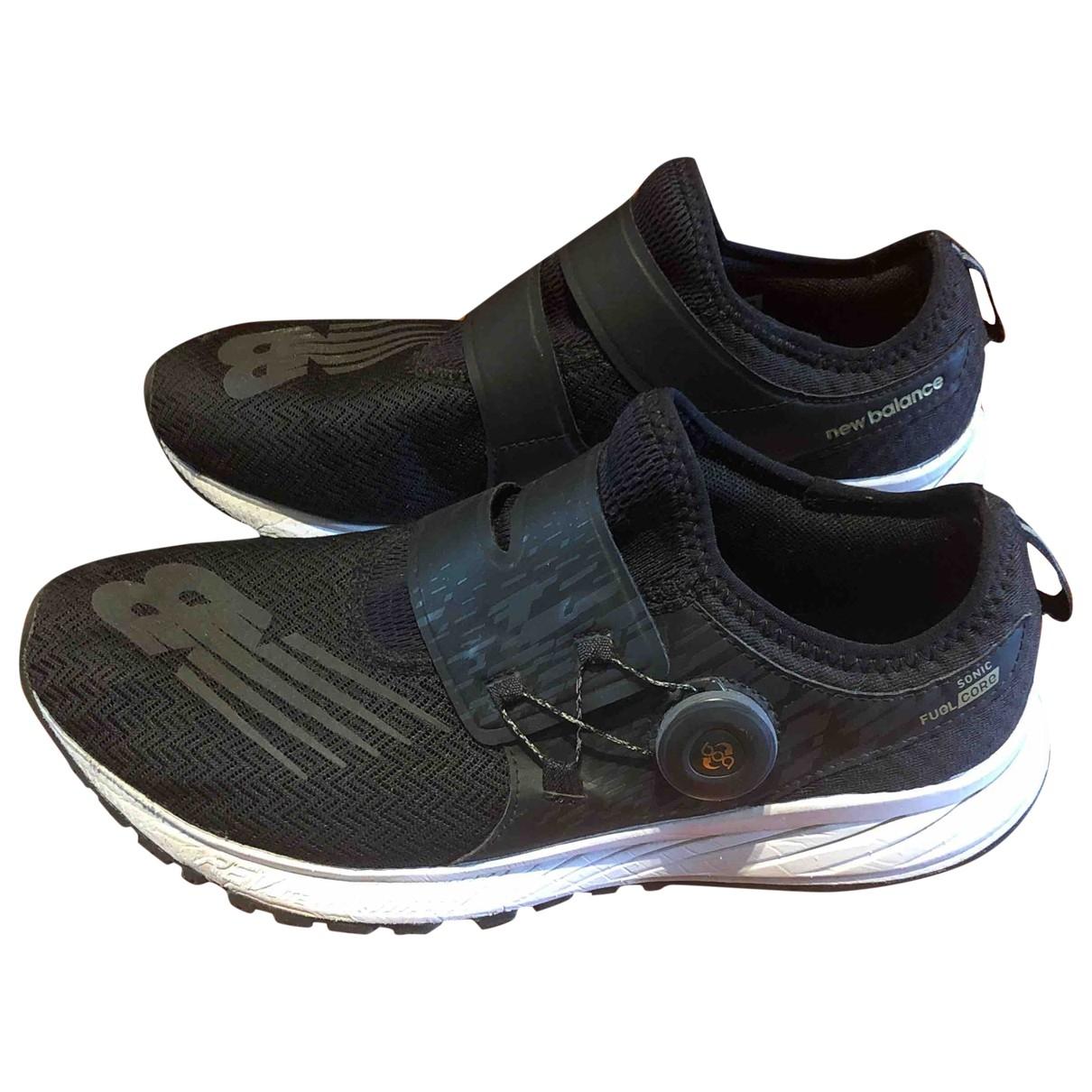 New Balance \N Sneakers in  Schwarz Leinen