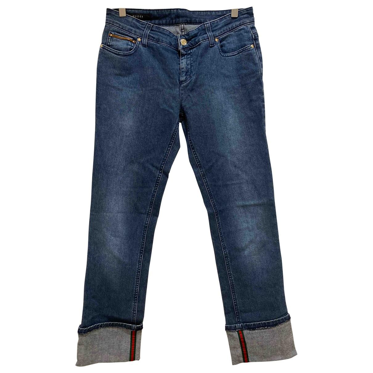 Gucci N Blue Denim - Jeans Jeans for Women 38 FR
