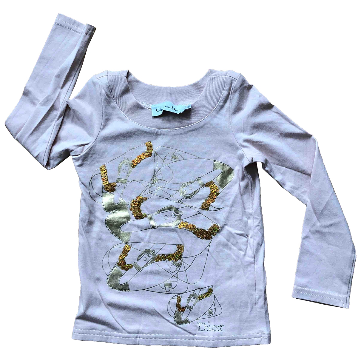 Dior \N Pink Cotton  top for Kids 4 years - up to 102cm FR