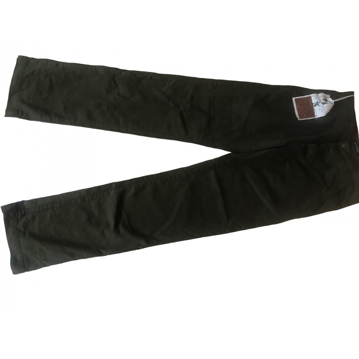 Gianfranco Ferré \N Khaki Cotton Jeans for Women 29 US