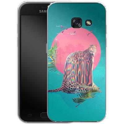 Samsung Galaxy A3 (2017) Silikon Handyhuelle - Jaguar von Ali Gulec