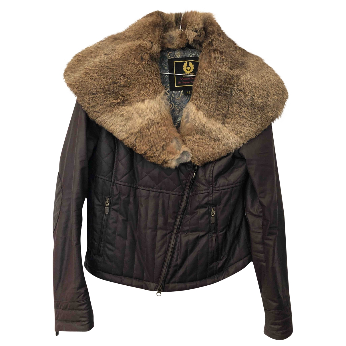 Belstaff \N Brown Cotton jacket for Women 42 IT