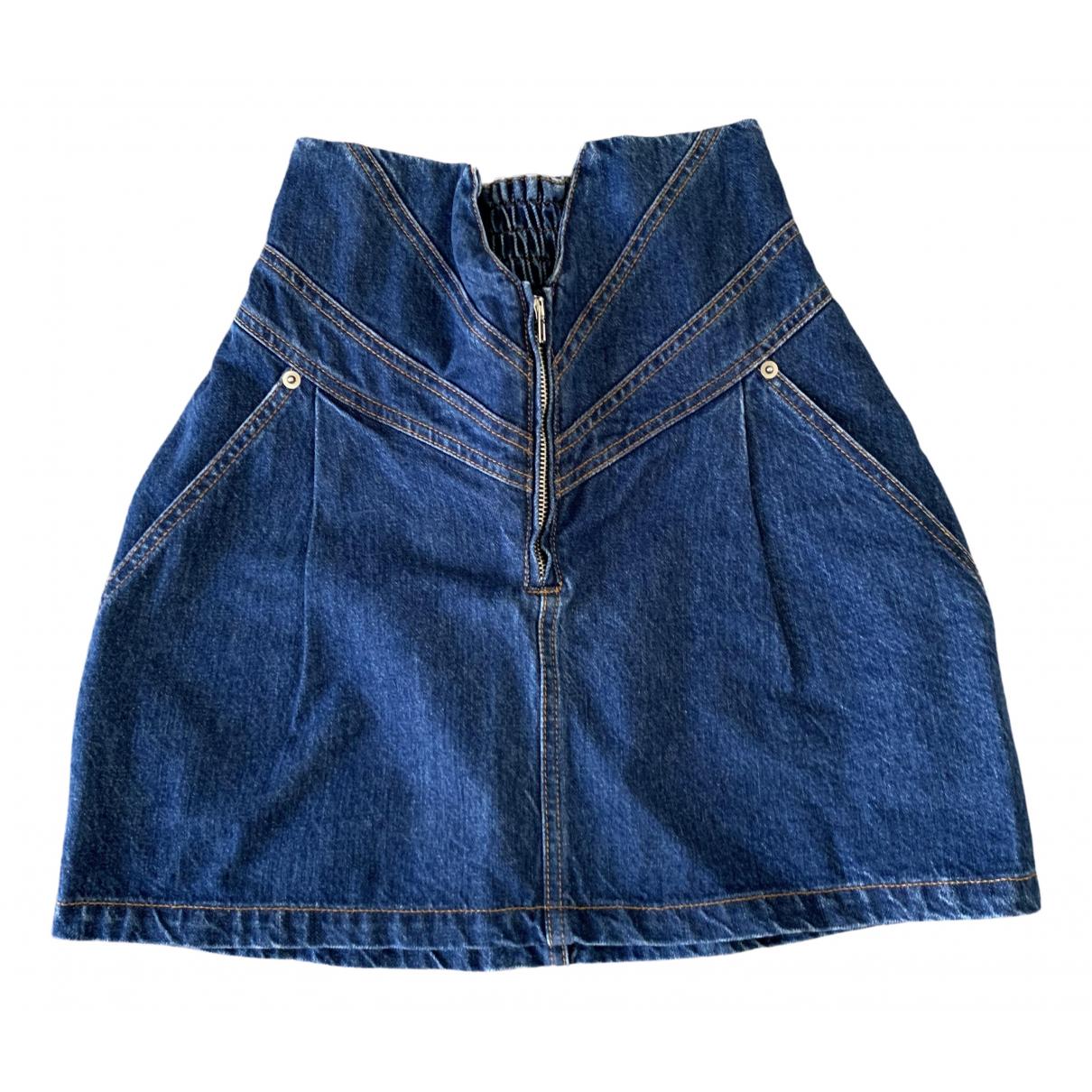 Attico \N Rocke in  Blau Denim - Jeans