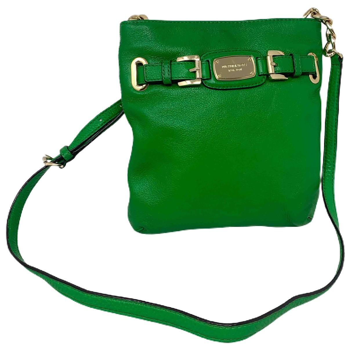 Michael Kors - Sac a main   pour femme en cuir - vert