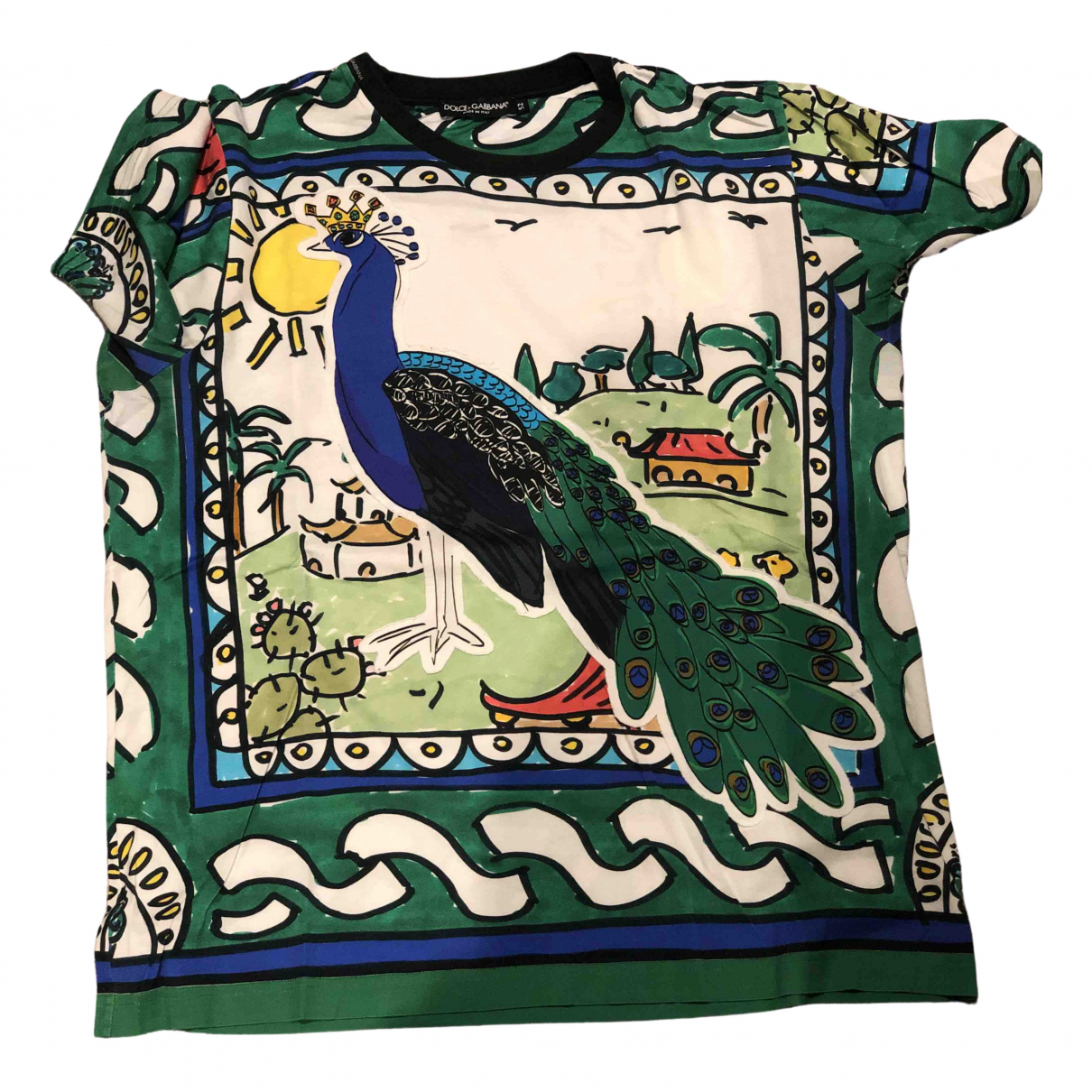 Dolce & Gabbana \N T-Shirts in  Bunt Baumwolle