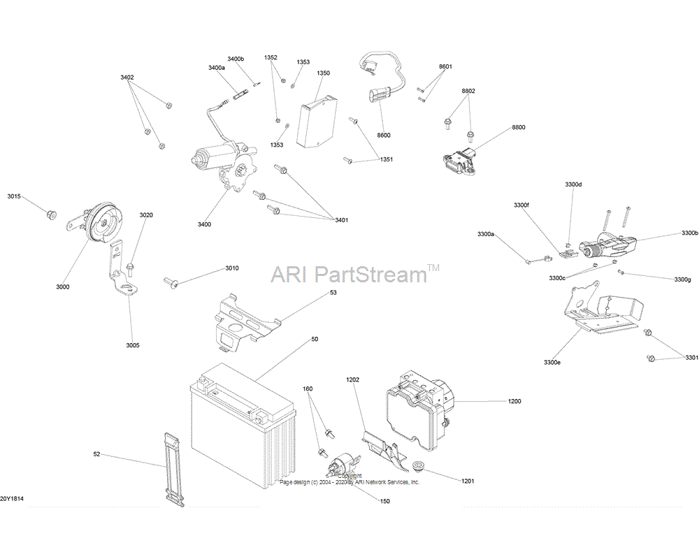 Can-AM OEM Reverse Actuator Support