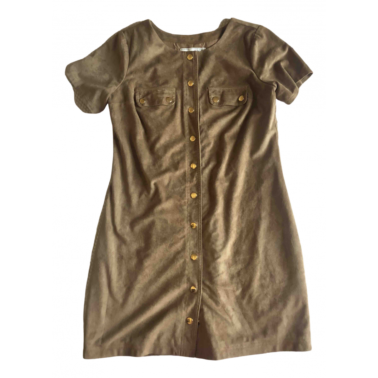 Abercrombie & Fitch - Robe   pour femme - camel