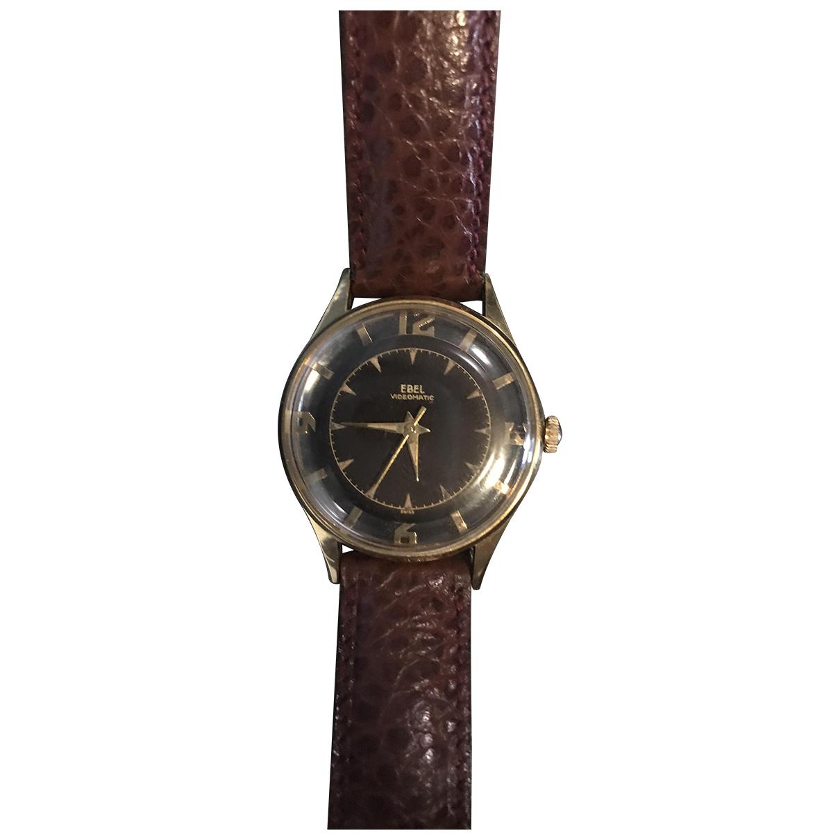 Ebel \N Uhr in  Gold Stahl