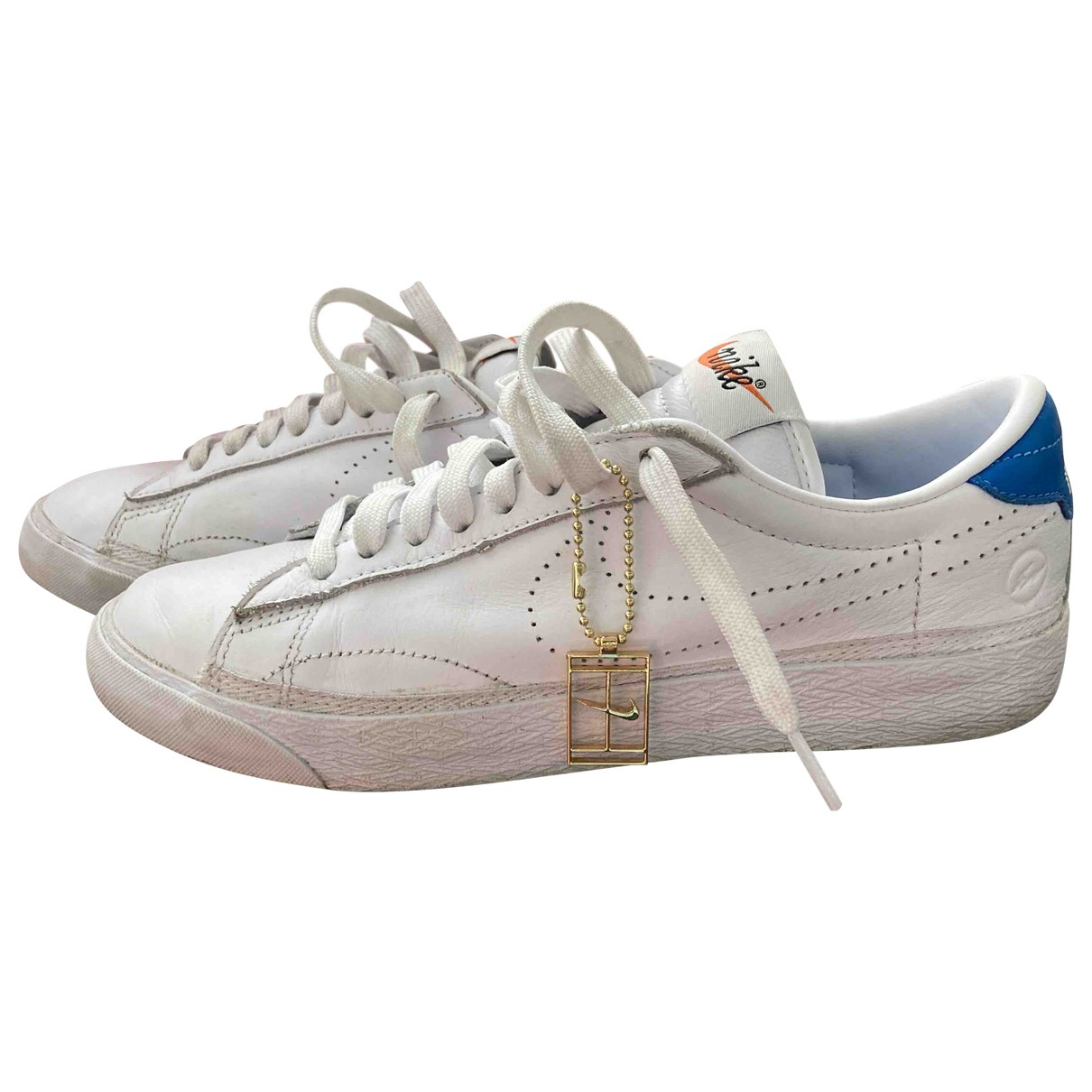 Nike N White Leather Trainers for Women 5.5 UK