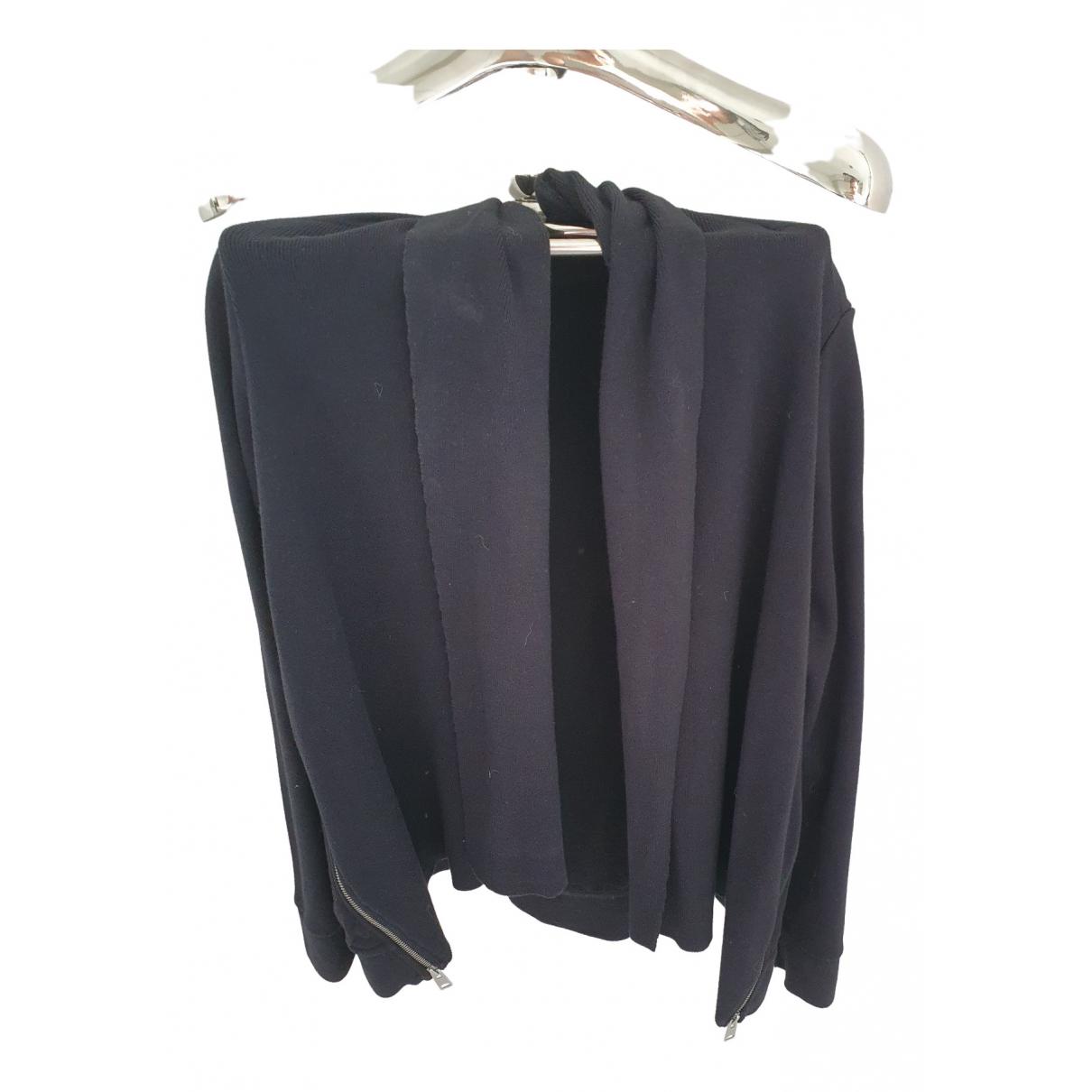 All Saints \N Black Cotton Knitwear for Women 8 UK