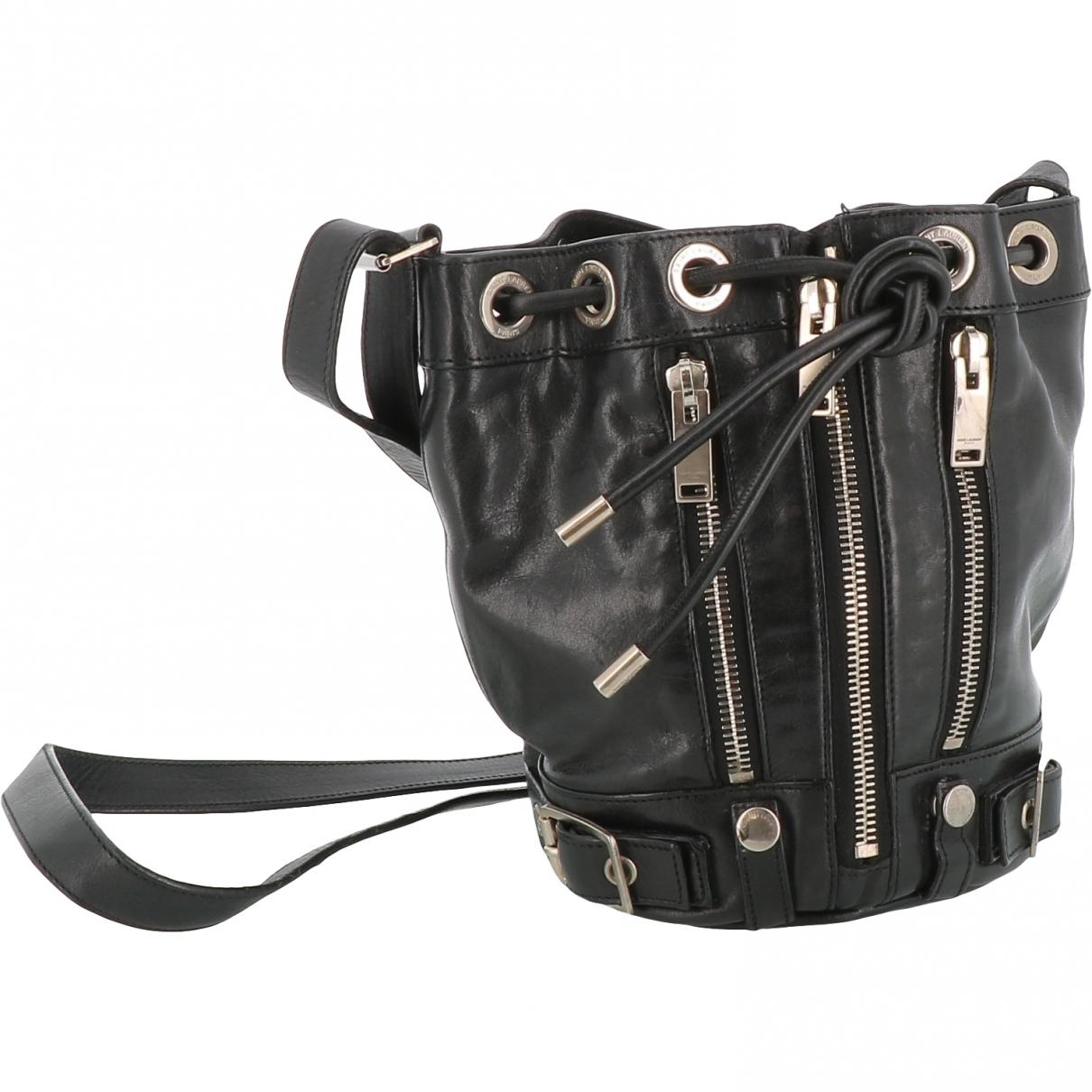 Saint Laurent Emmanuelle Black Leather handbag for Women \N