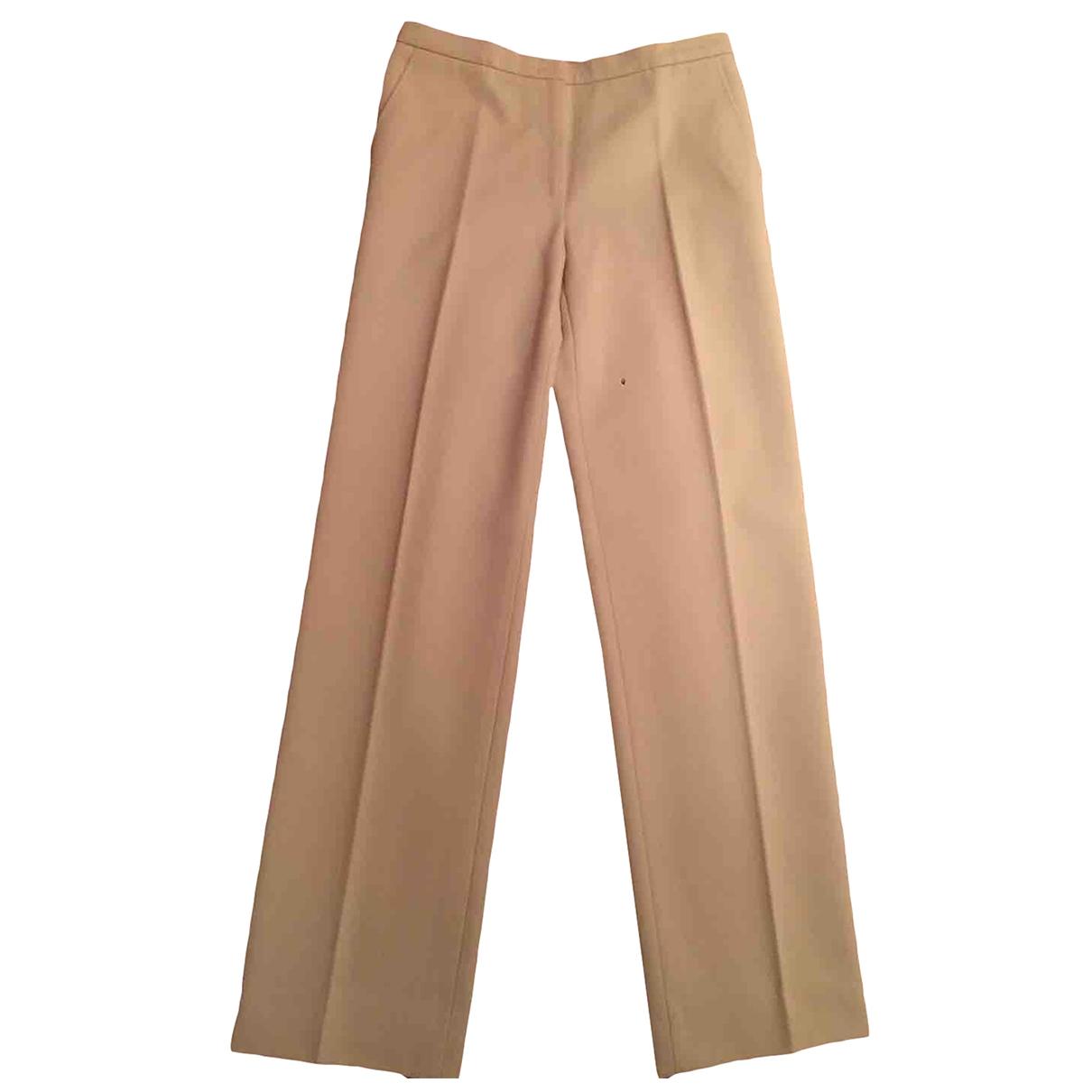 Max Mara - Pantalon   pour femme en coton - blanc