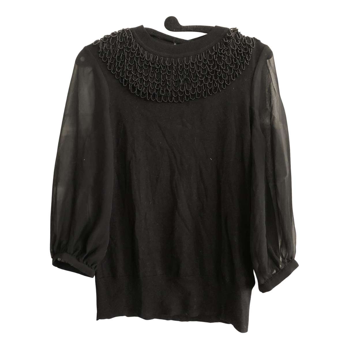 Ted Baker \N Black Cotton Knitwear for Women S International