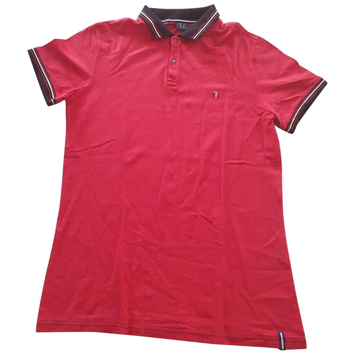 Trussardi \N Poloshirts in  Rot Baumwolle