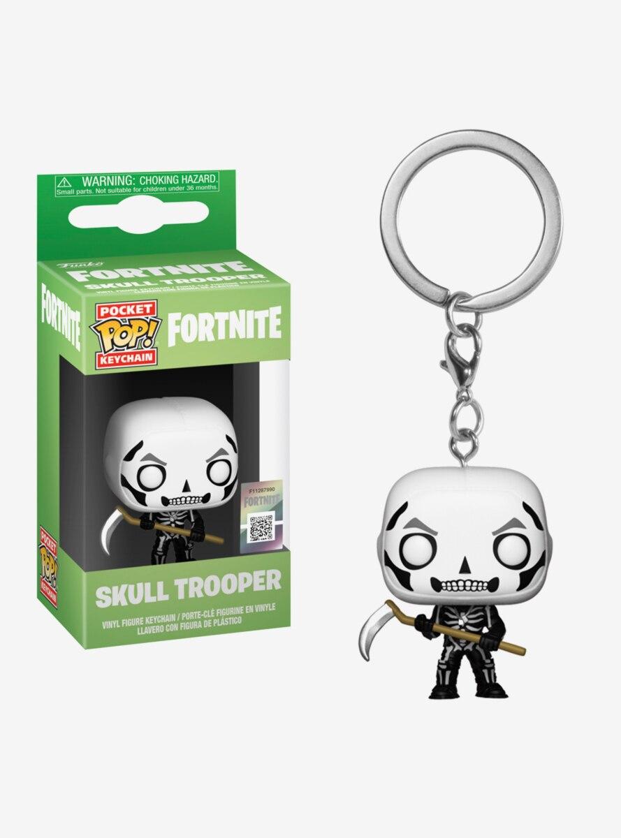 Funko Pocket Pop! Fortnite Skull Trooper Vinyl Key Chain