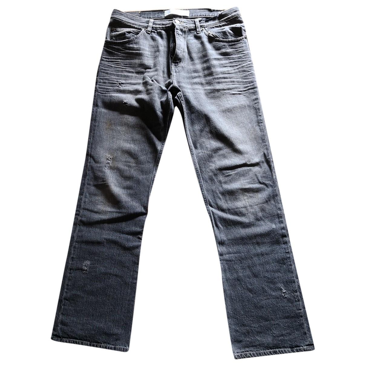 Golden Goose - Jean   pour femme en coton - gris
