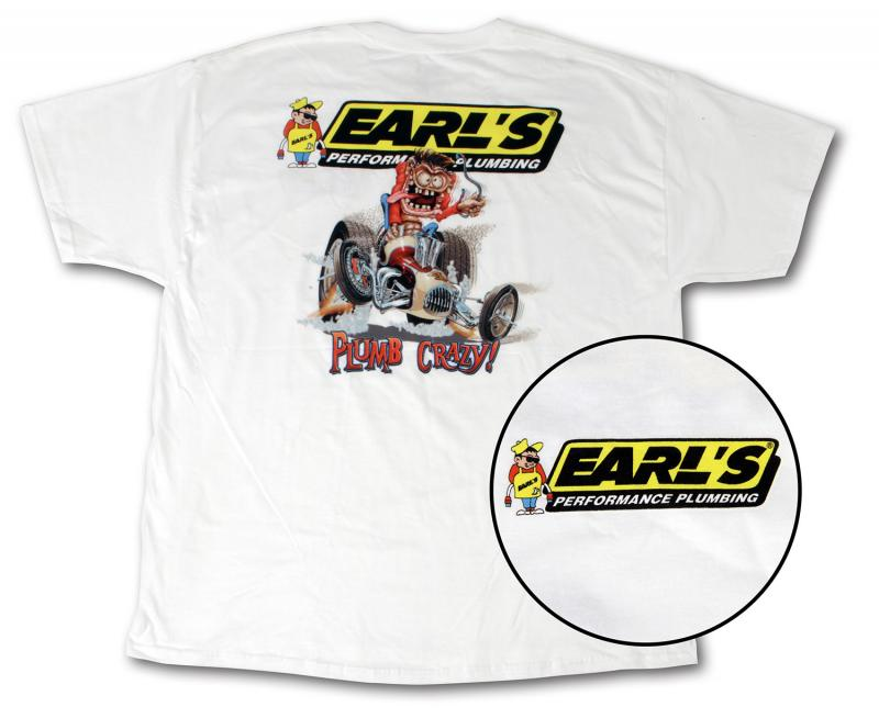 Earl's Performance 10031-SMERL TEE - EARLS MONSTER - SM