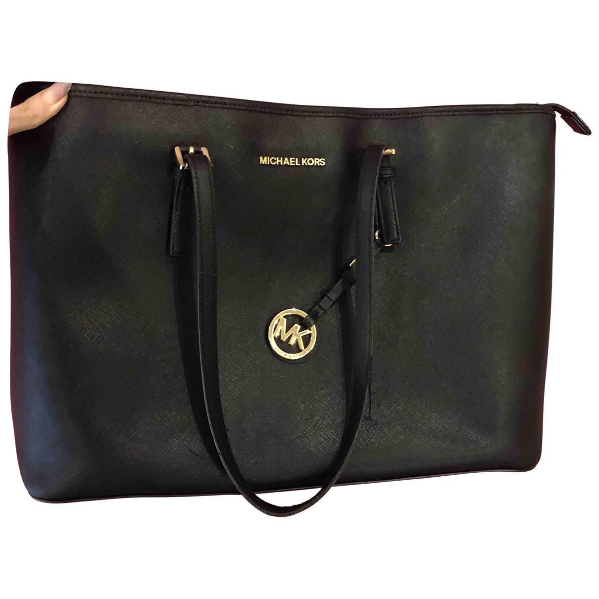 Michael Kors Jet Set Black handbag for Women \N