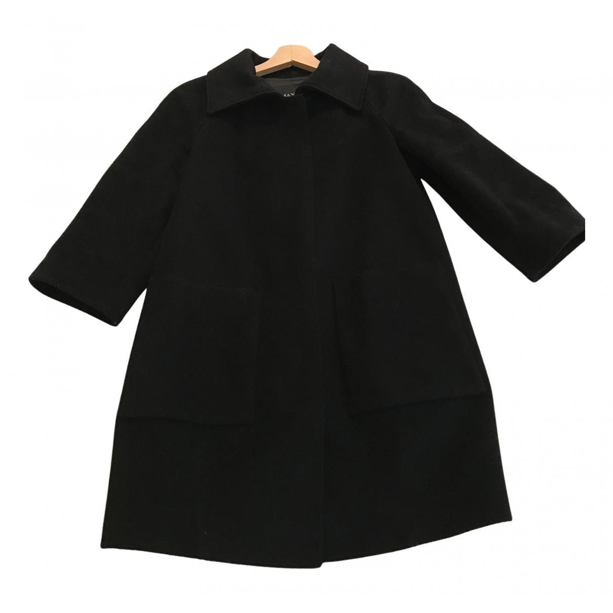Max & Co N Black Wool coat for Women 38 IT