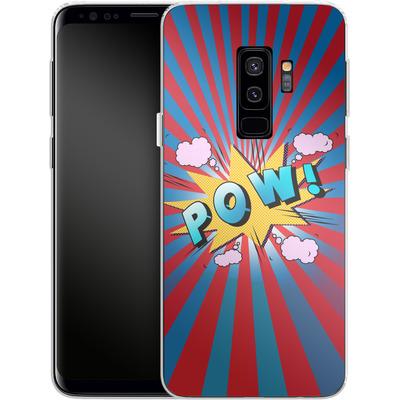 Samsung Galaxy S9 Plus Silikon Handyhuelle - Pow von Mark Ashkenazi