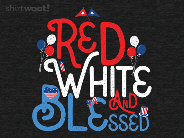 Red White And Blessed T Shirt