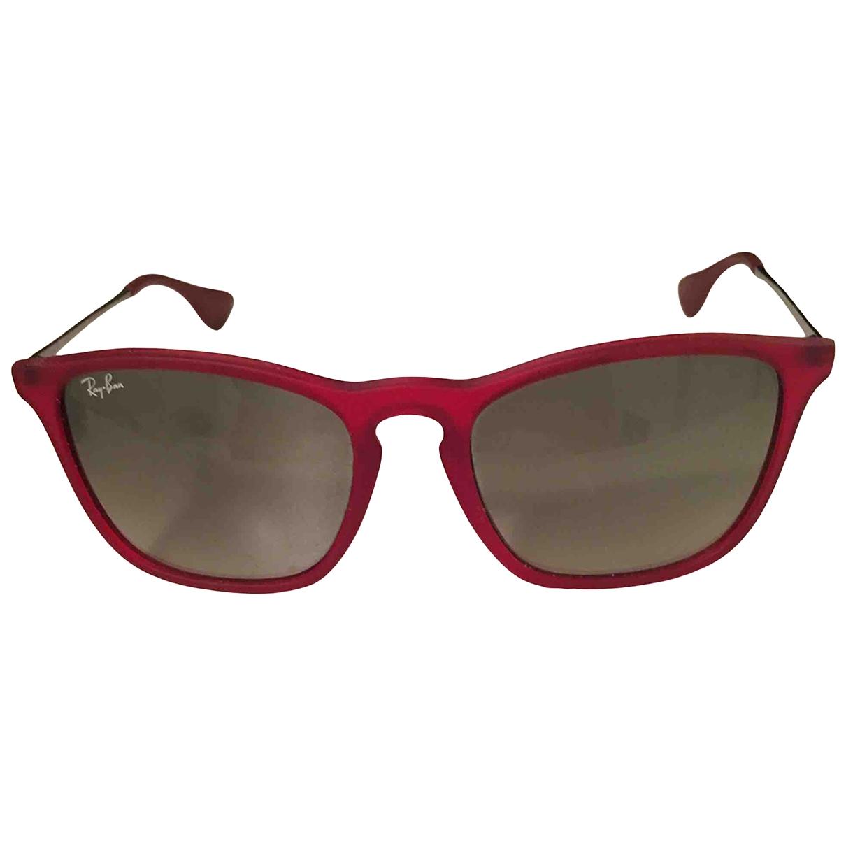 Ray-ban - Lunettes   pour femme - rouge