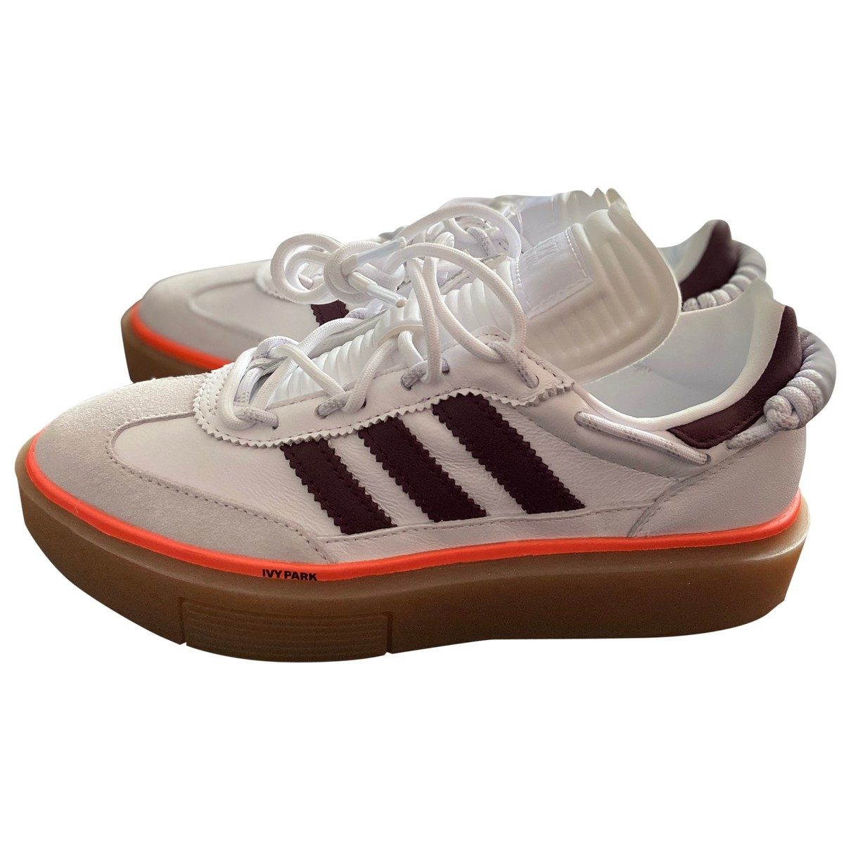 Adidas \N White Leather Trainers for Women 5 US