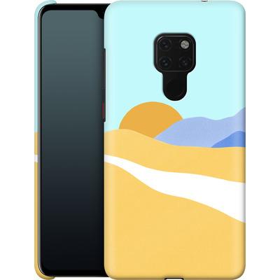 Huawei Mate 20 Smartphone Huelle - Sunset Beach von Lucy Bohr