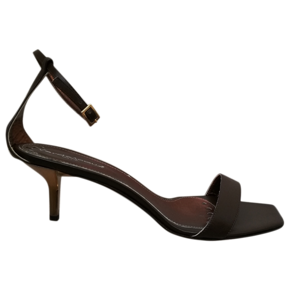 Non Signé / Unsigned \N Brown Leather Sandals for Women 40 IT