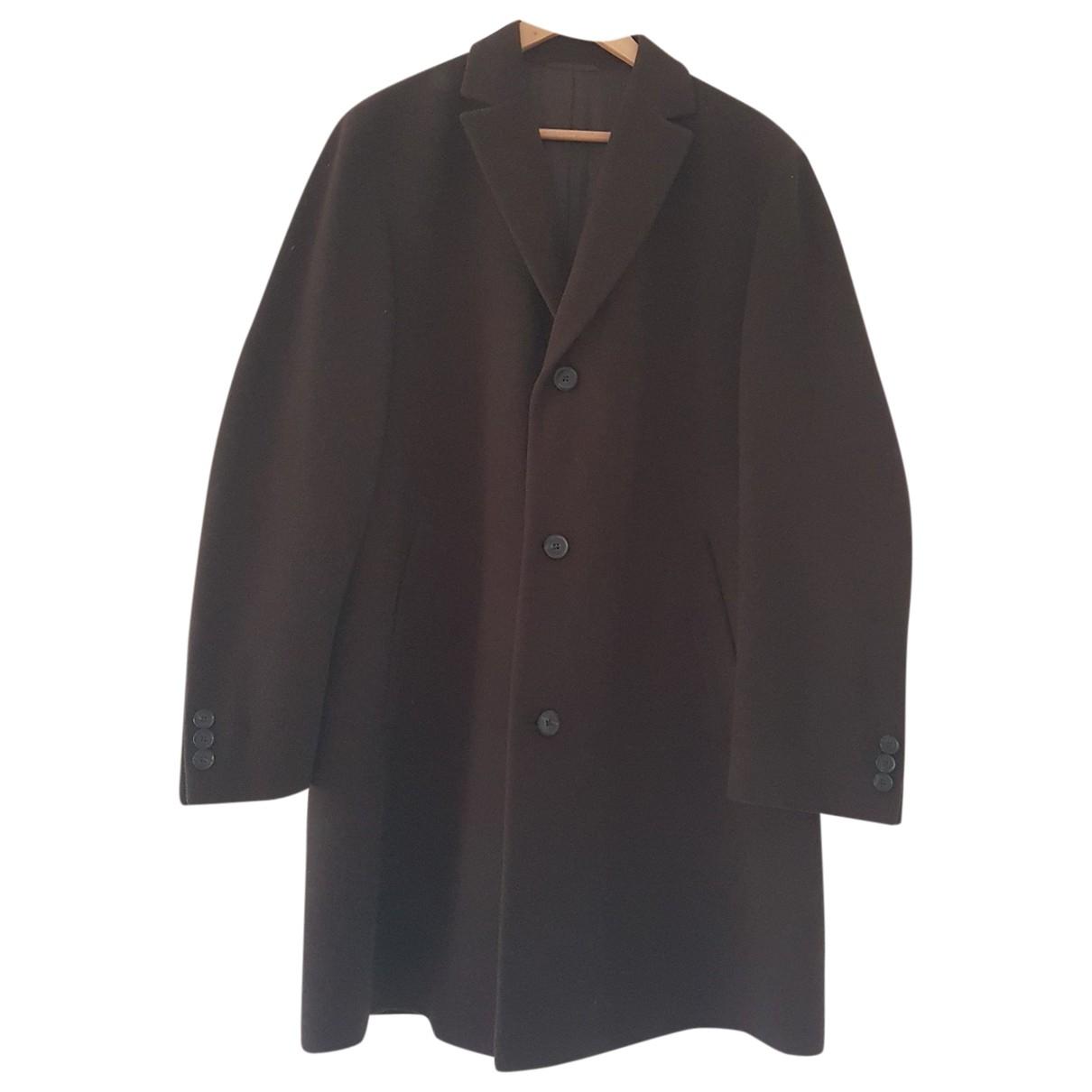 Boss \N Brown Cashmere coat  for Men 50 FR