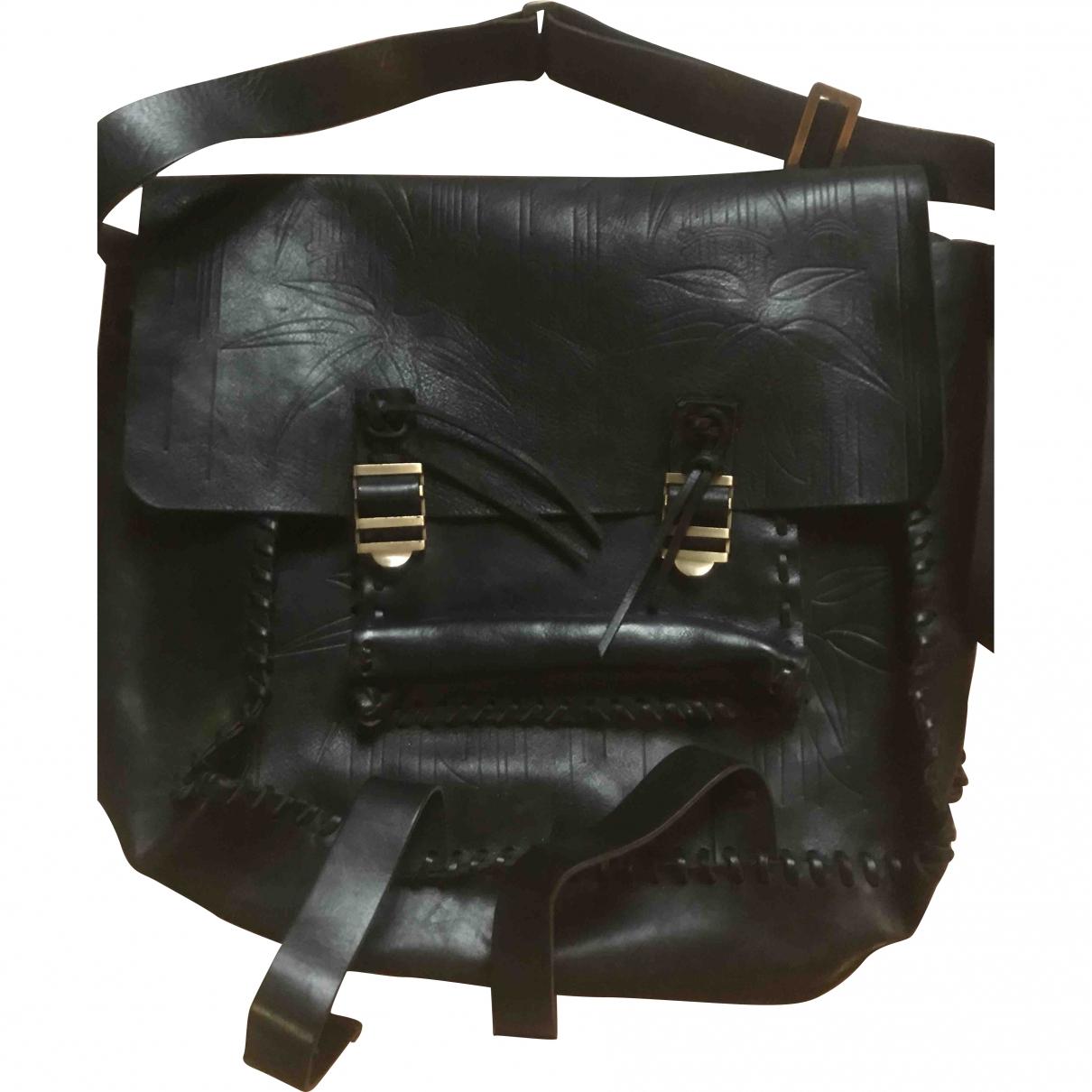 Valentino Garavani \N Black Leather bag for Men \N