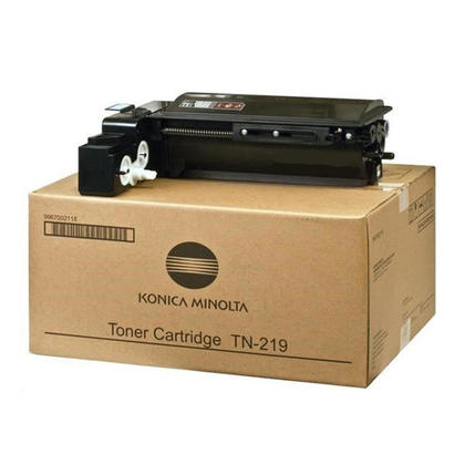 Konica Minolta TN219 DD1A002G3X Original Black Toner Cartridge