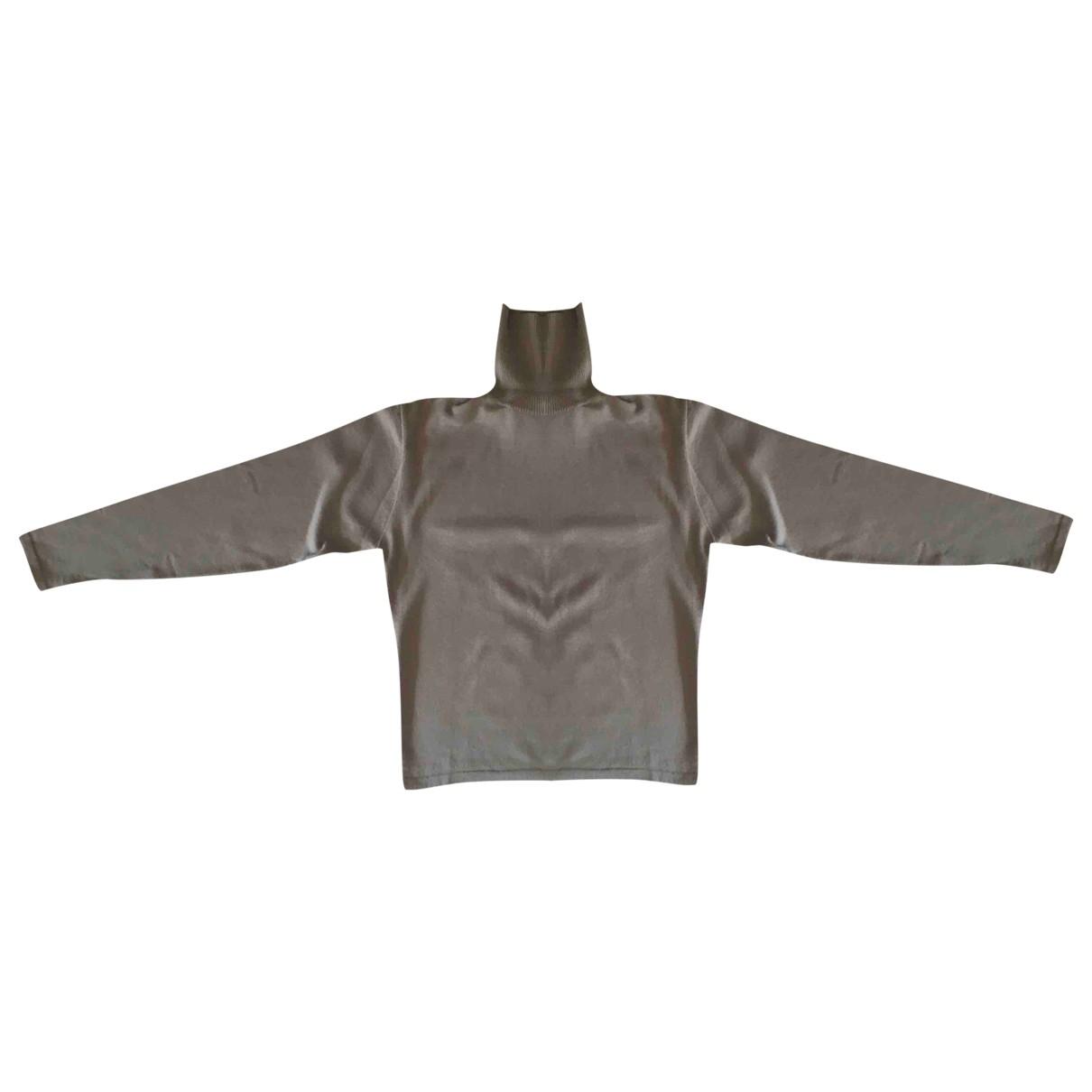Daniele Alessandrini \N Pullover.Westen.Sweatshirts  in  Grau Wolle
