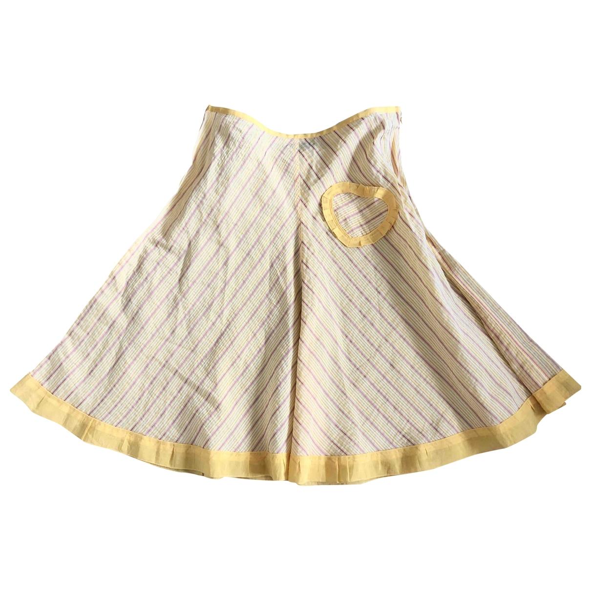 Sonia By Sonia Rykiel - Jupe   pour femme en coton - jaune