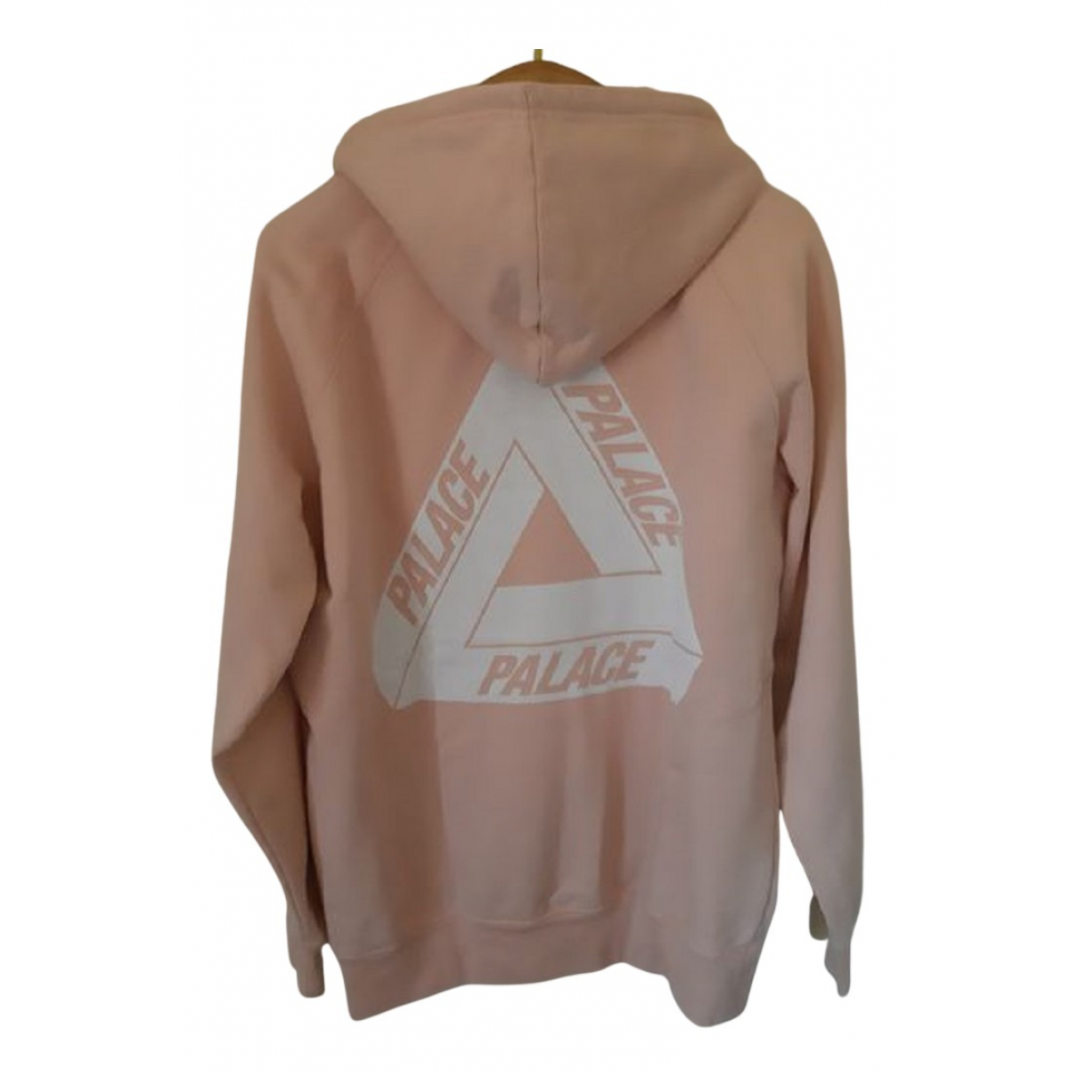 Palace \N Pullover.Westen.Sweatshirts  in  Rosa Baumwolle