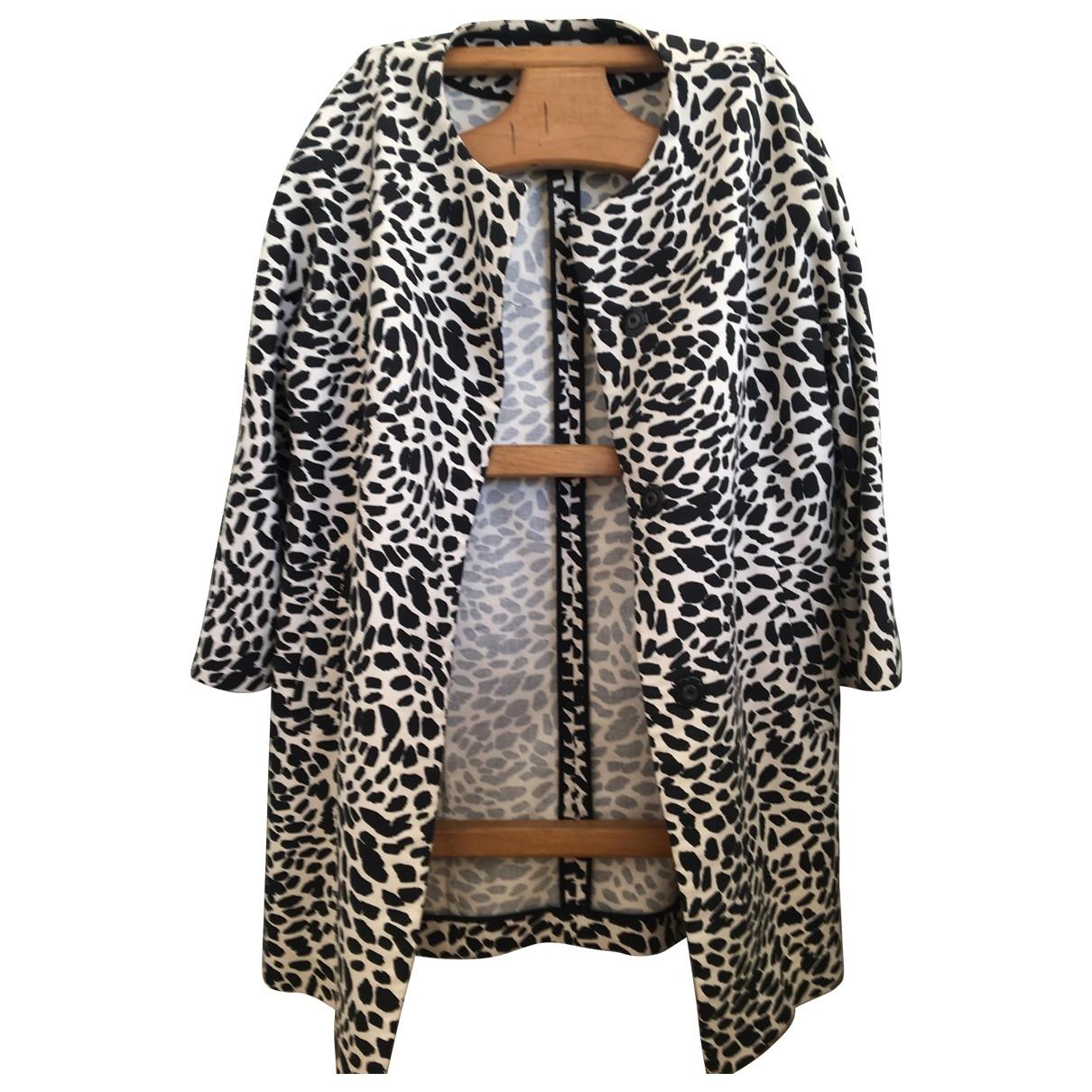 Gerard Darel \N White Cotton Trench coat for Women 38 FR