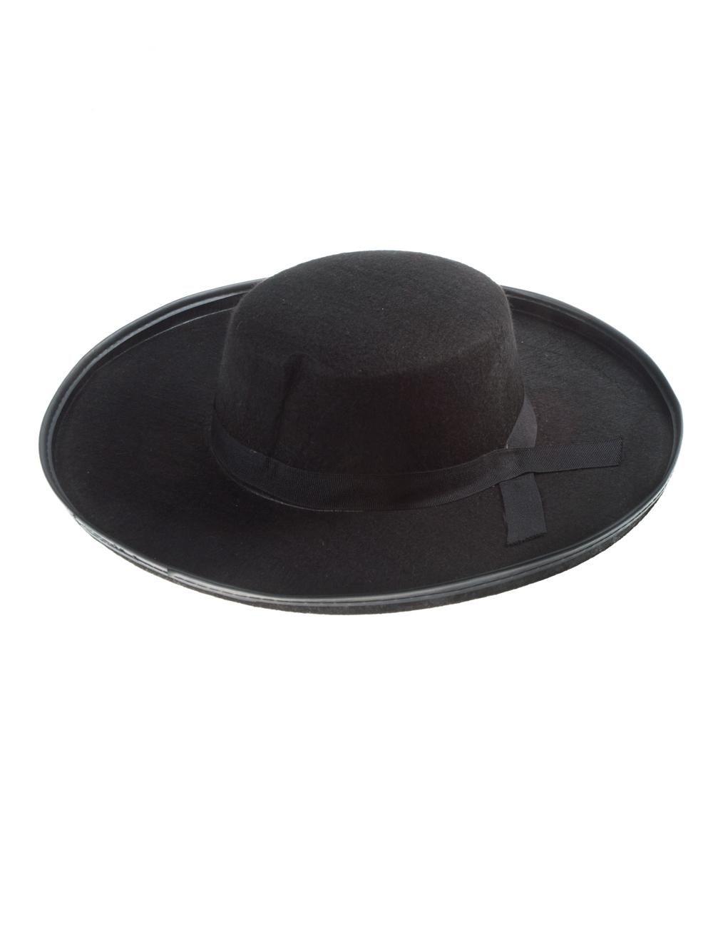 Kostuemzubehor Hut Spanier schwarz