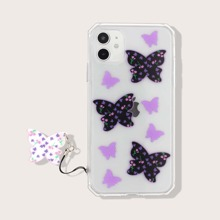 Funda de iphone con estampado de mariposa