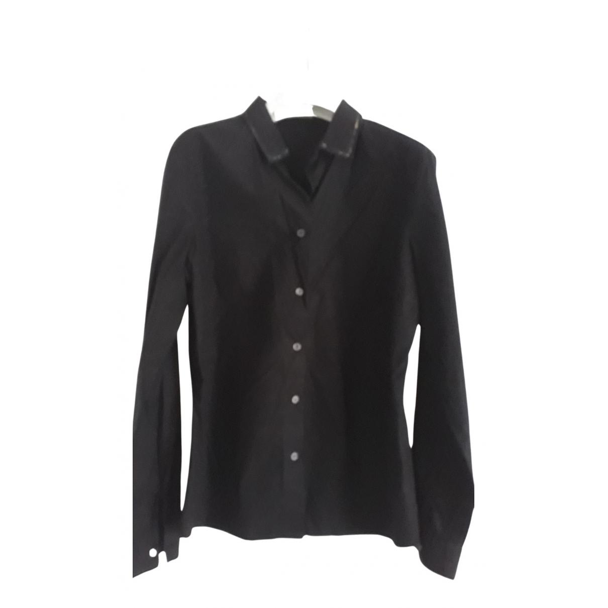 Bottega Veneta - Top   pour femme en coton - noir