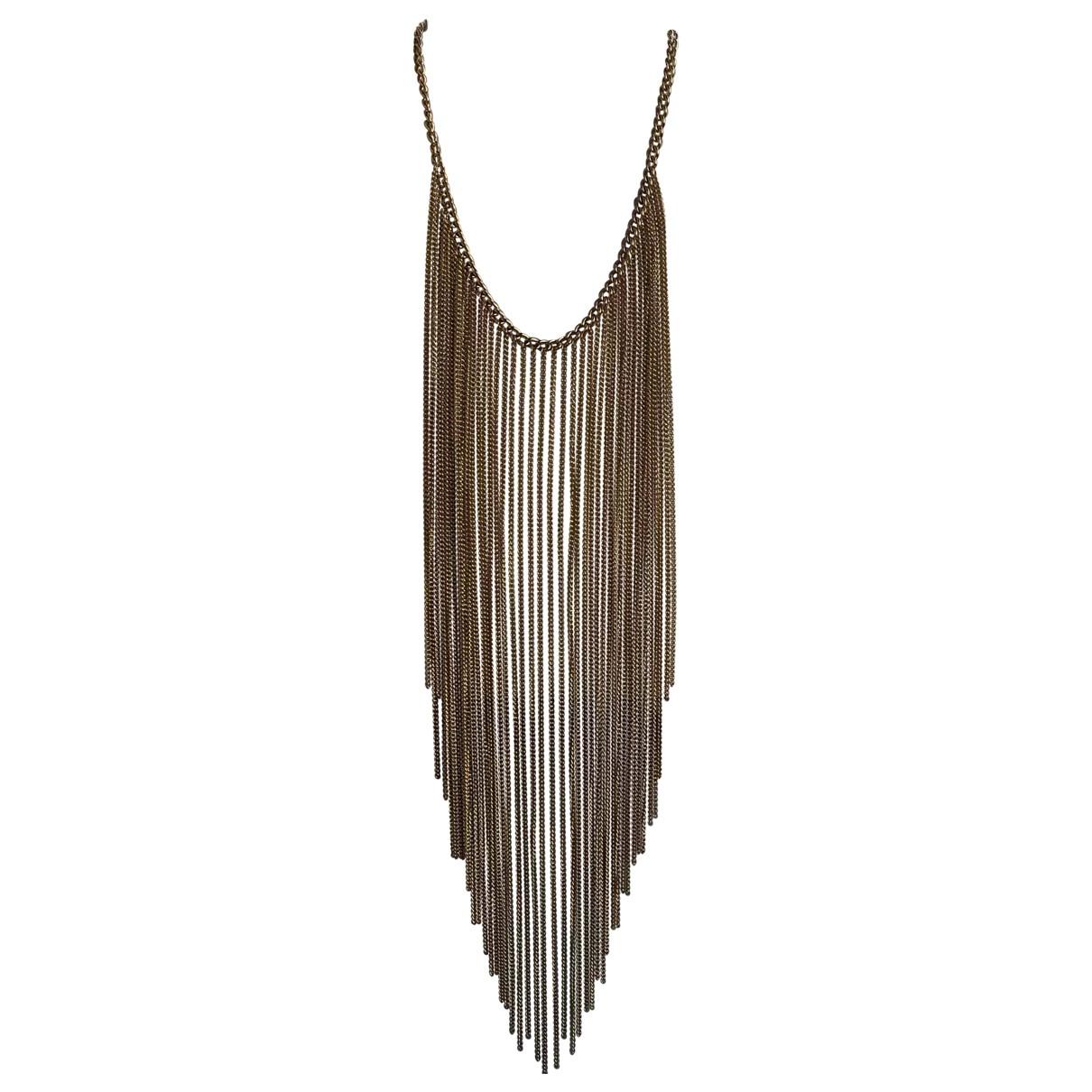 Michael Kors \N Gold Steel necklace for Women \N