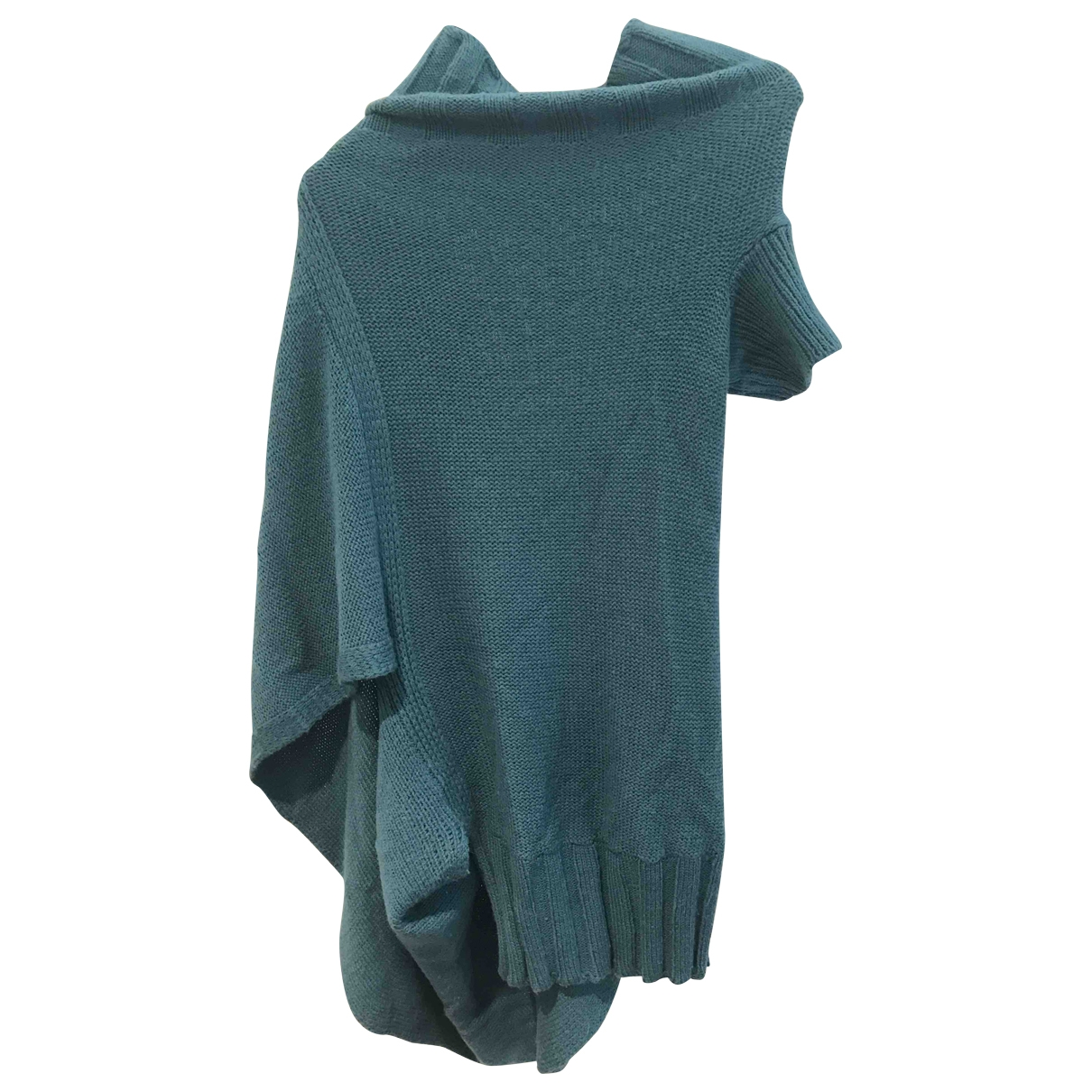Alessandra Marchi \N Pullover in  Blau Wolle