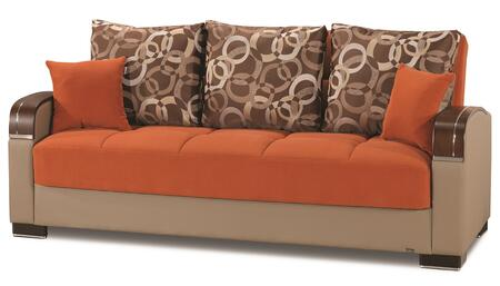 Mobimax Collection MOBIMAX SOFABED ORANGE 17-341 87