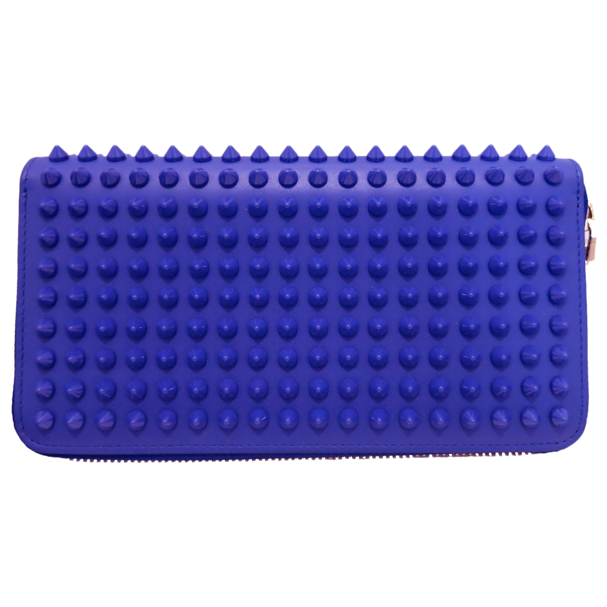 Christian Louboutin Panettone Blue Leather wallet for Women N